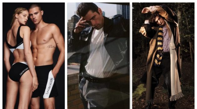Week in Review: Matthew Noszka for Calvin Klein, Sean O'Pry, Luca Lemaire + More
