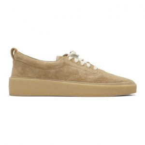 Fear of God Beige 101 Lace-Up Sneakers