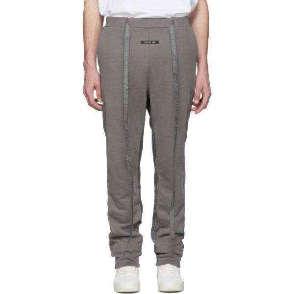 Fear of God Grey Baggy Lounge Pants