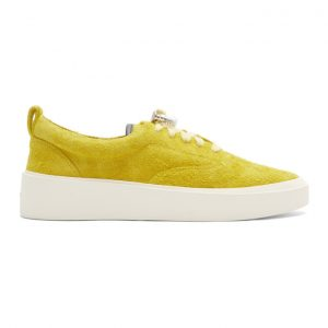 Fear of God Yellow Suede 101 Lace-Up Sneakers