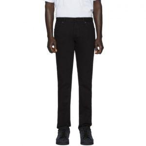 Fendi Black FF Velvet Tape Jeans