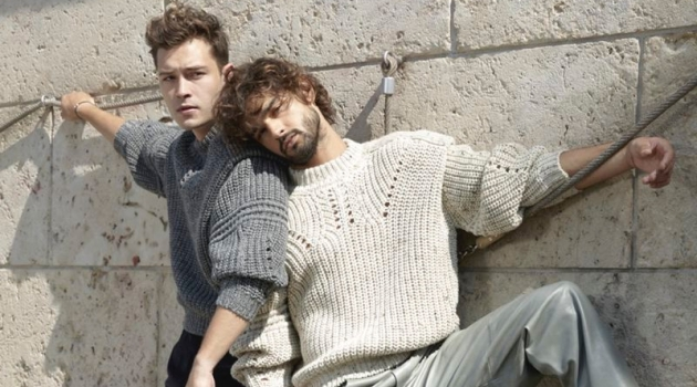 Bromance: Francisco & Marlon for L'Officiel Hommes Italia