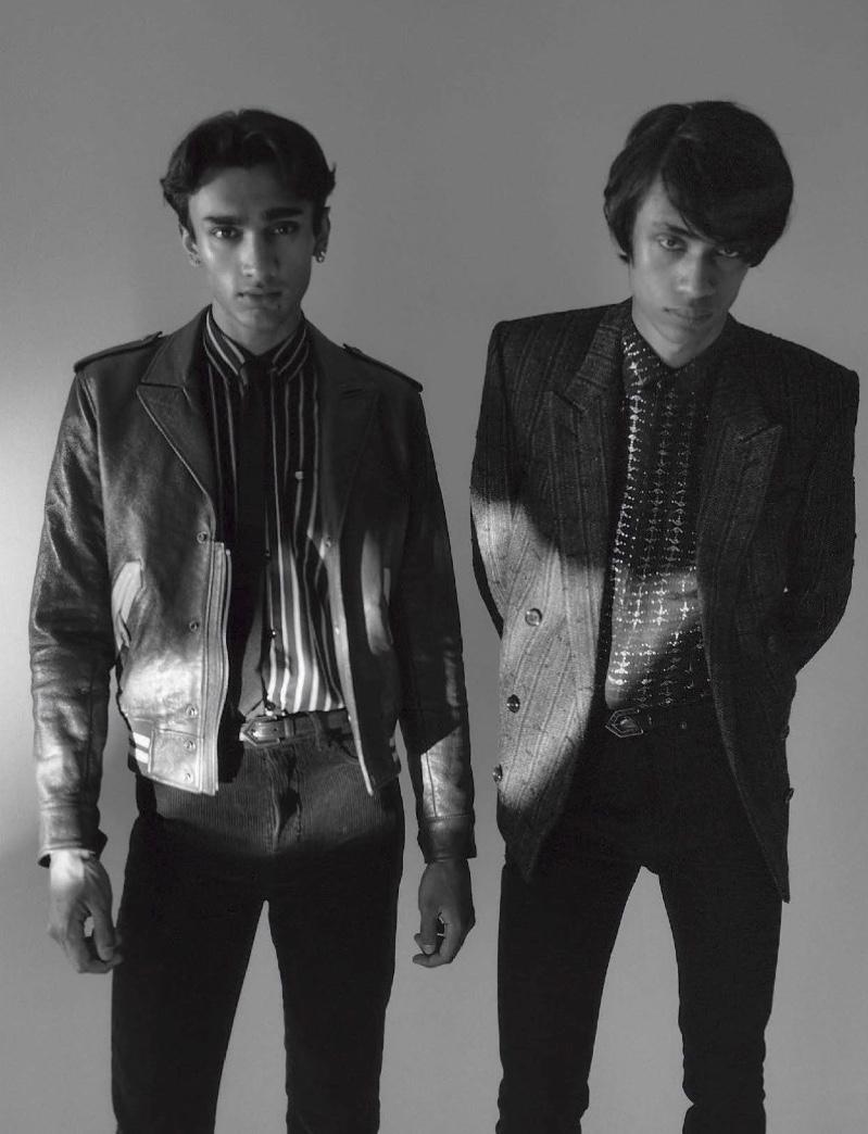 Punjabi Cool: Zaki, Neeraj & Benjamin for GQ Italia