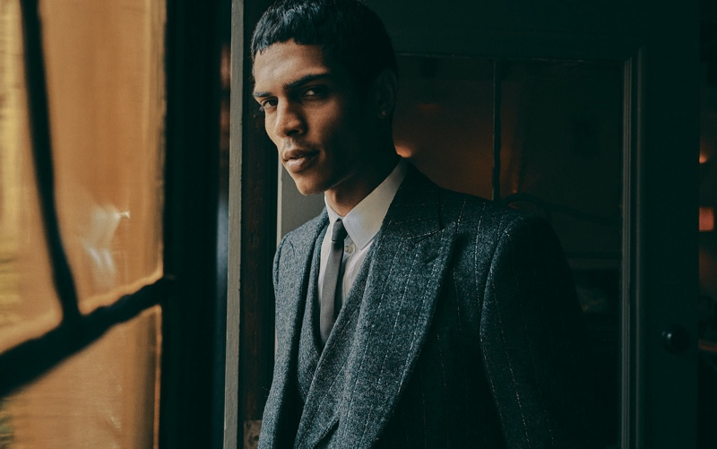 The Right Line: Geron McKinley for The Telegraph Luxury