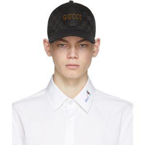 Gucci Black GG Supreme Cap