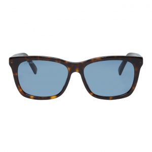 Gucci Tortoiseshell and Blue Oversized Wearable Sunglasses