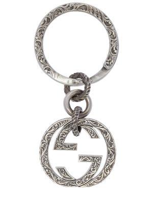 Interlocking G Silver Pocket Chain