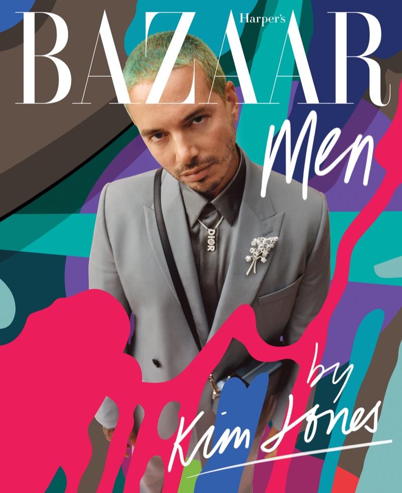 J Balvin covers Harper's Bazaar Men.