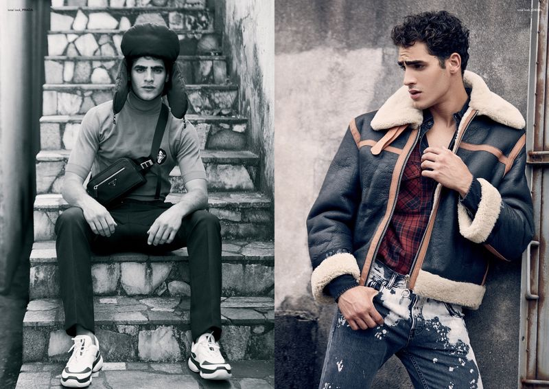 Jhonattan Burjack Rocks Eclectic Style for Victor Cover Shoot