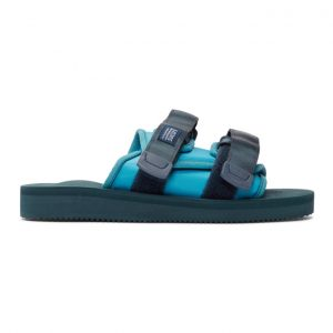 John Elliott Blue and Navy Suicoke Edition MOTO-JEab-G Sandals