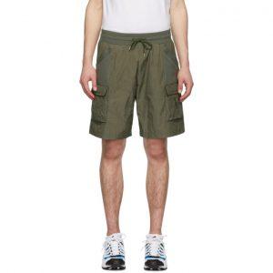 John Elliott Khaki Tactical Cargo Shorts