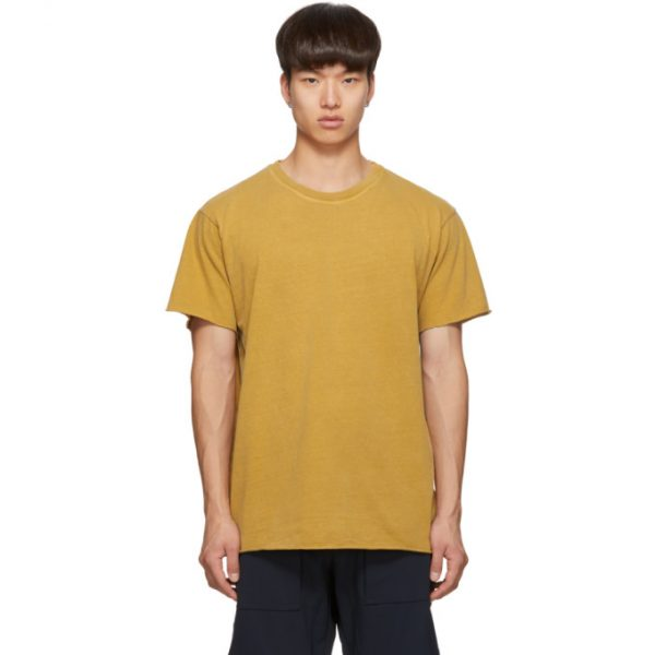 John Elliott Yellow Anti-Expo T-Shirt