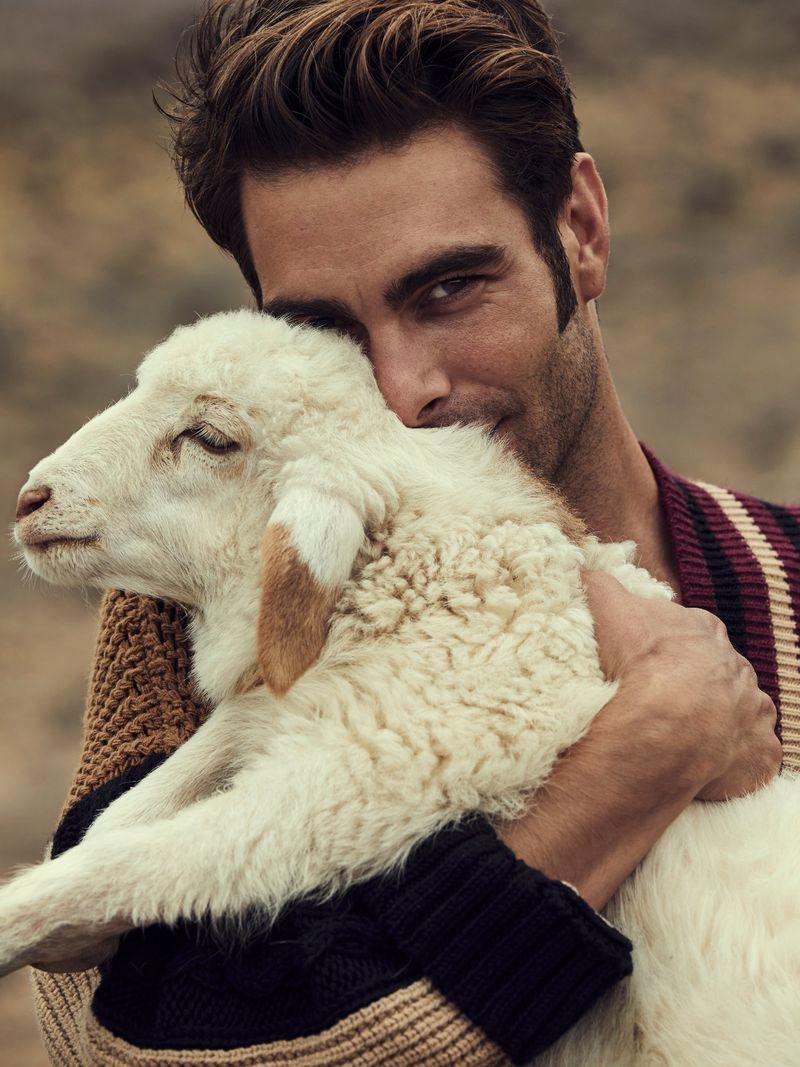 Jon Kortajarena Captivates in Vogue Poland Man Cover Shoot