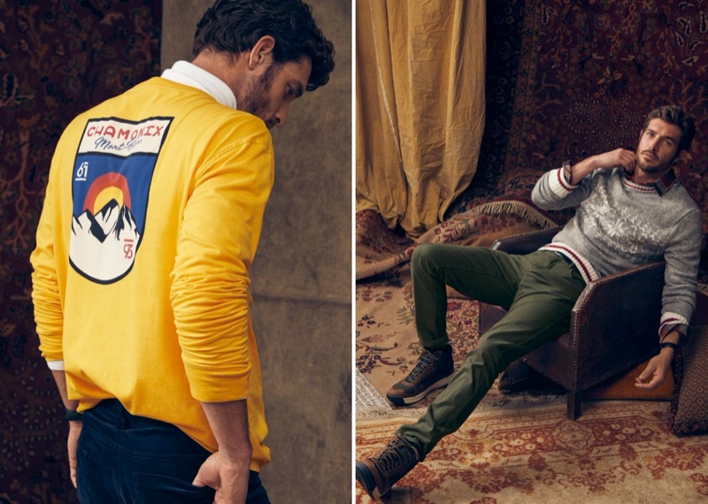 Ready for winter, Justice Joslin dons looks from LE 31 at Simons.