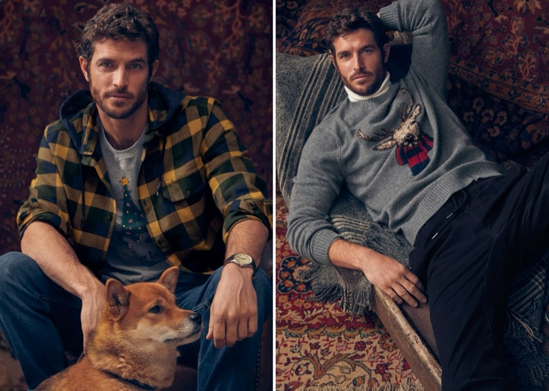 Reconnecting with Simons for the holidays, Justice Joslin dons festive styles from LE 31.