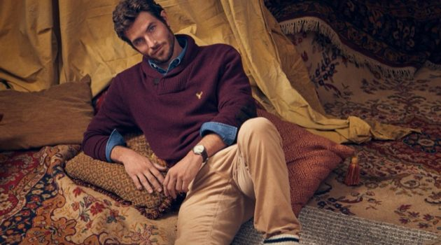 Making a case for smart style, Justice Joslin dons fashions from LE 31.