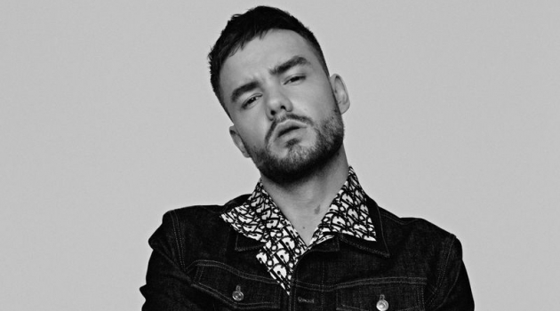 Doubling down on denim, Liam Payne wears a Dior Men shirt for Têtu.