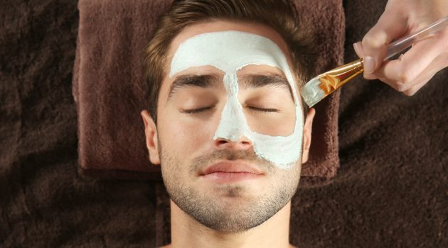 Man Spa Treatment Facial