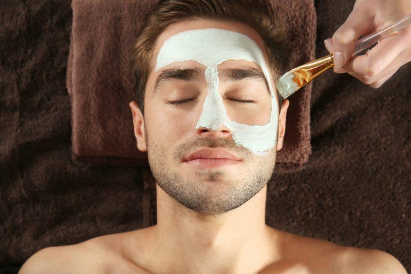 Man Spa Treatment Facial