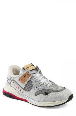 Men's Gucci Ultrapace Sneaker, Size 7US / 6UK - Grey