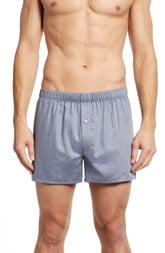 Men's Hanro Fancy Cotton Boxers