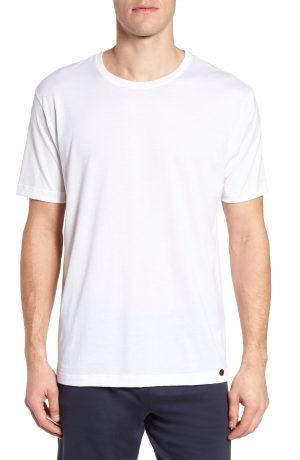 Men's Hanro Night & Day Crewneck T-Shirt, Size Medium - White