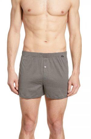 Men's Hanro Sporty Stripe Cotton Boxers