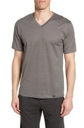 Men's Hanro Sporty Stripe Cotton V-Neck T-Shirt