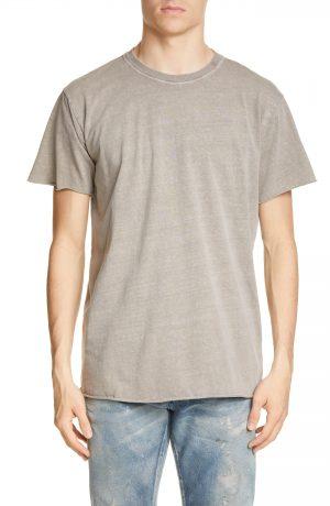 Men's John Elliott Anti Expo Crewneck T-Shirt, Size Large - Brown