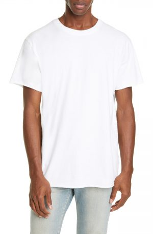 Men's John Elliott Anti Expo Raw Edge T-Shirt, Size X-Large - White