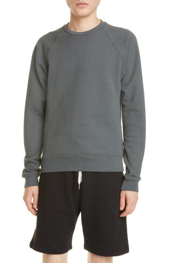 Men's John Elliott Crewneck Sweatshirt, Size Small - Grey