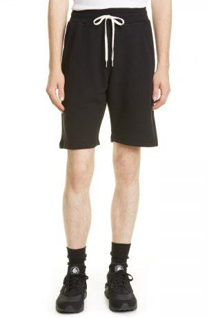 Men's John Elliott Crimson Drawstring Shorts, Size Small - Black