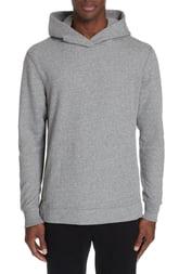 Men's John Elliott Hooded Villain Slim Fit Hooded Sweatshirt, Size X-Small - Grey