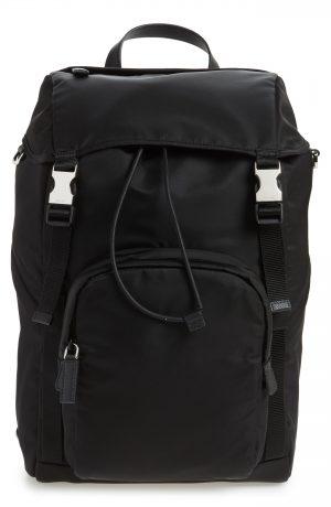 Men's Prada Montagna Flap Backpack -