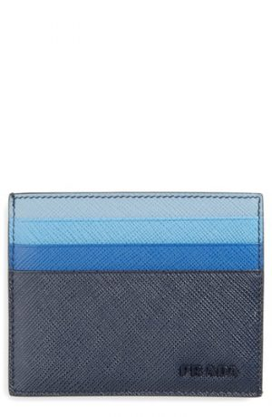Men's Prada Multicolor Saffiano Leather Card Case -