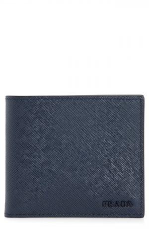 Men's Prada Saffiano Leather Bifold Wallet -