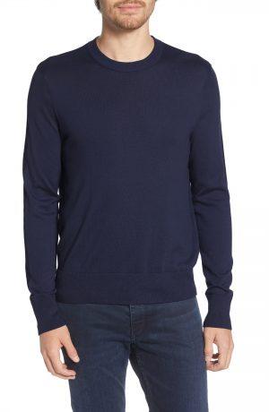 Men's Rag & Bone Barrow Colorblock Sweater, Size Medium - Blue