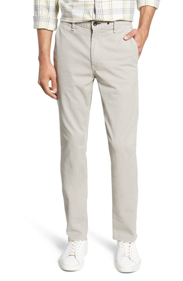 Men's Rag & Bone Fit 2 Slim Fit Chinos, Size 32 - Grey