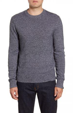 Men's Rag & Bone Haldon Crewneck Cashmere Sweater, Size Small - Black