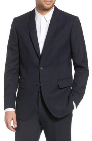 Men's Rag & Bone Razor Blazer, Size 42R - Blue