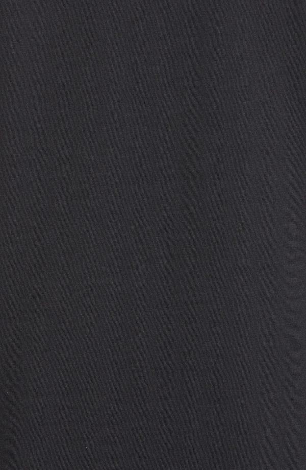 Men's Rag & Bone Slub Cotton Slim Fit Polo, Size X-Small - Black
