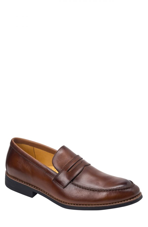 Men's Sandro Moscoloni Mundo Penny Loafer, Size 8 D - Brown