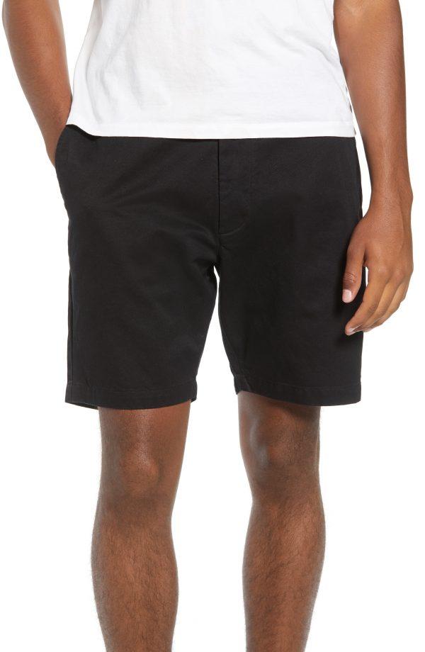 Men's Saturdays Nyc Evan Shorts, Size 36 - Black