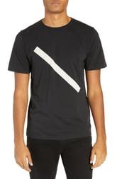 Men's Saturdays Nyc Slash Graphic T-Shirt, Size X-Small - Black