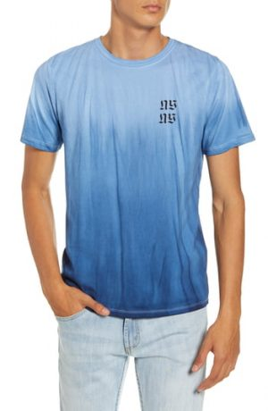 Men's Saturdays Nyc Tower Exclusive T-Shirt, Size Large - Blue