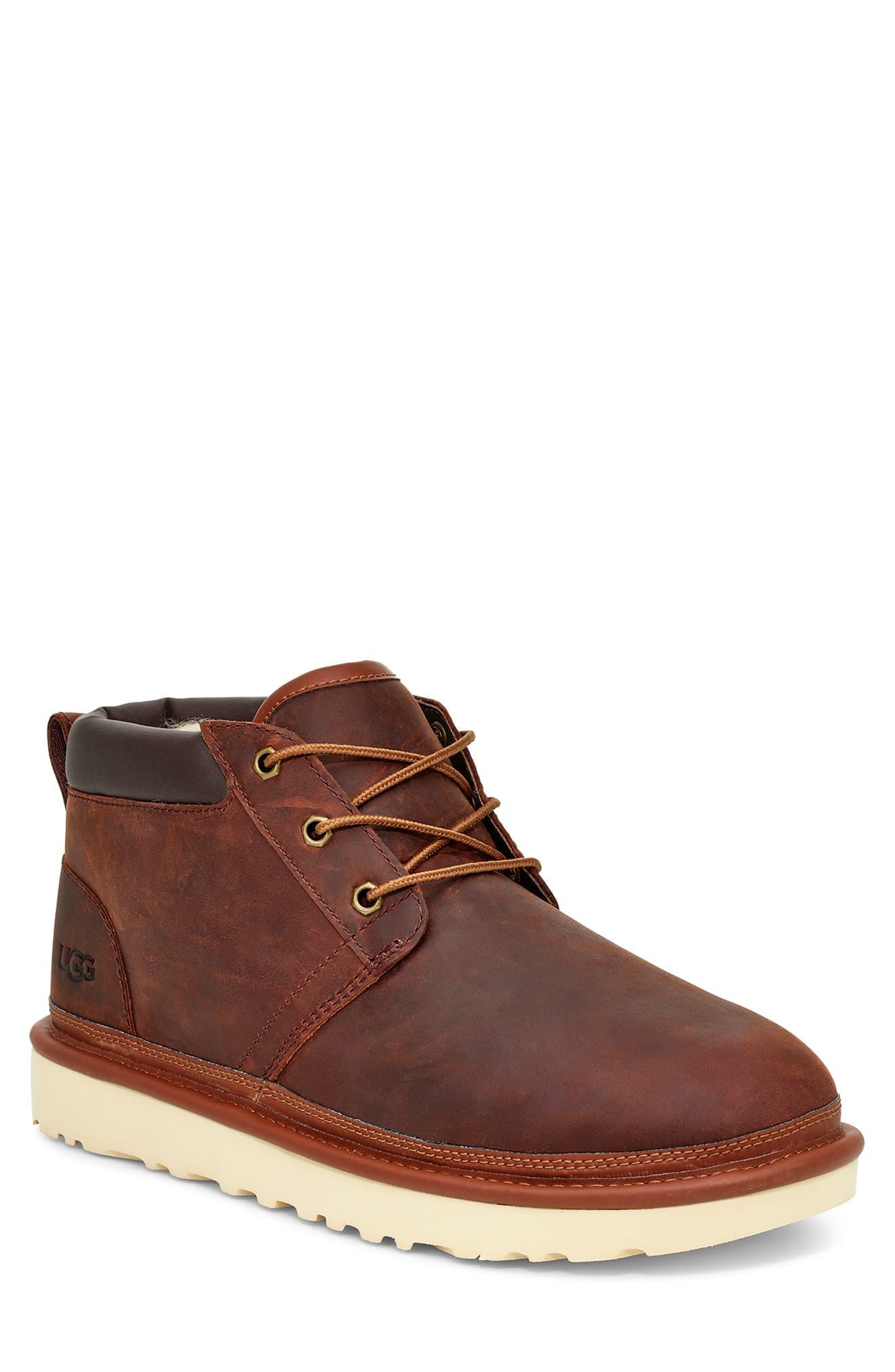 Men S Ugg Neumel Utility Chukka Boot Size 8 M Brown