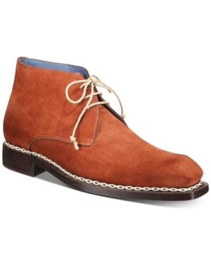 Mezlan Men's Kassel English Suede Demi Chukka Boots Men's Shoes