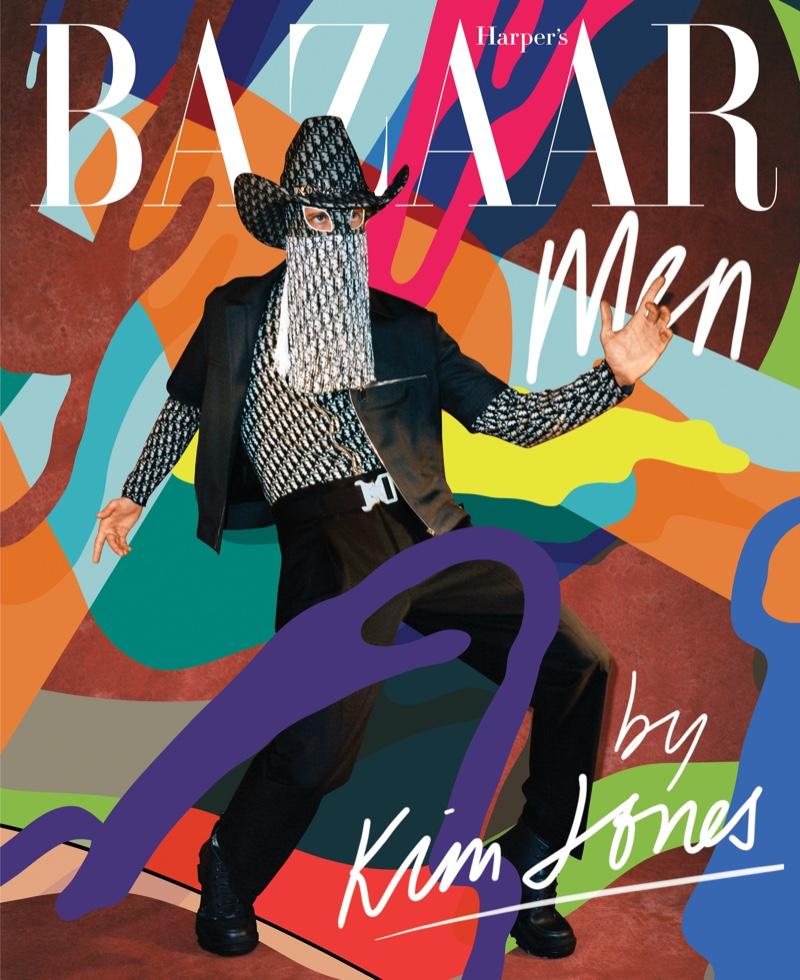 Orville Peck covers Harper's Bazaar Men.