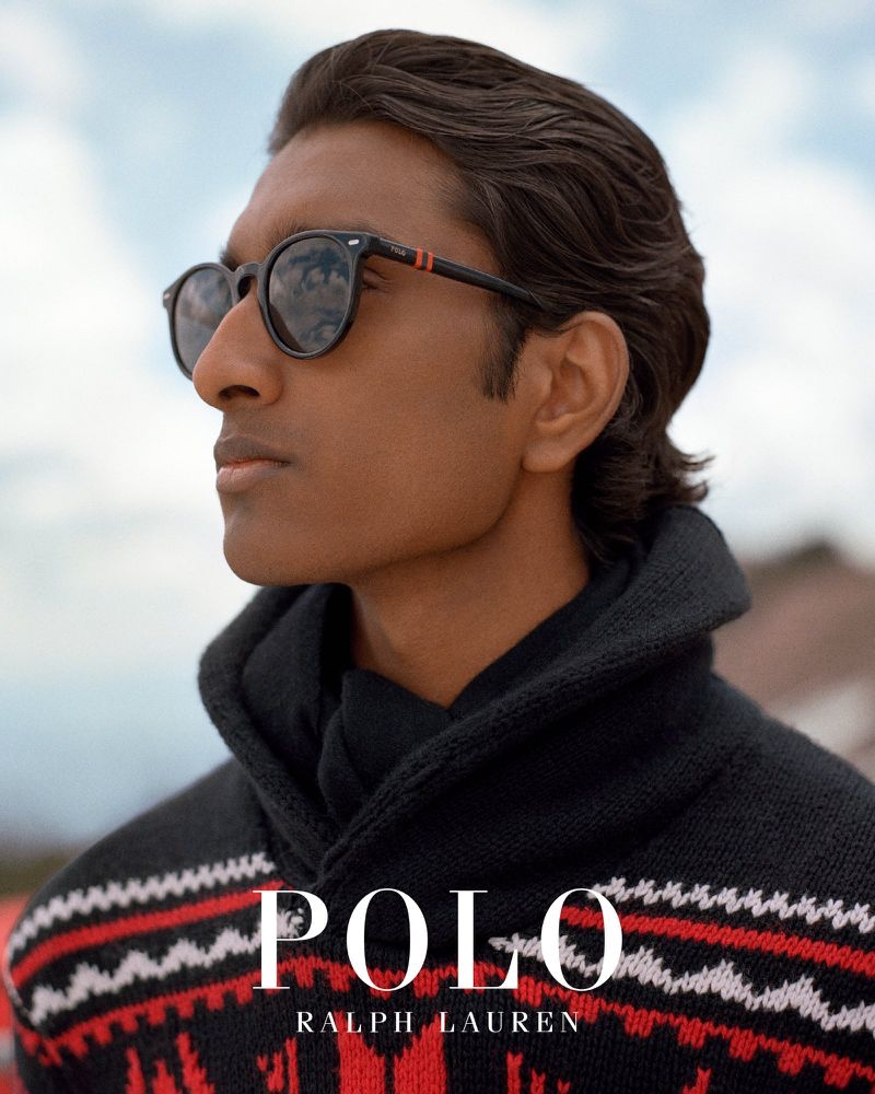 Jeenu Mahadevan connects with POLO Ralph Lauren for its fall-winter 2019 outerwear campaign.