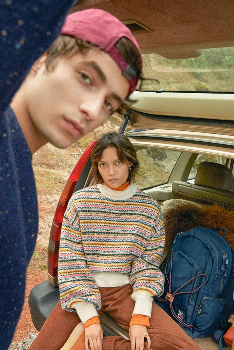 Pepe Jeans delivers a Xmas Story starring models Oscar Kindelan and Charlotte Carey Tampubolon.